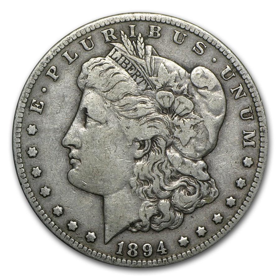 1894-S Morgan Dollar VF
