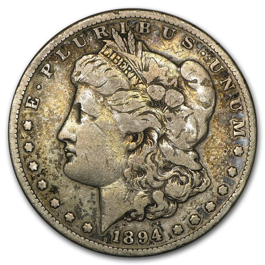 1894-S Morgan Dollar VG