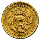 (1894) Thailand Gold 2.5 Baht MS-64+ NGC