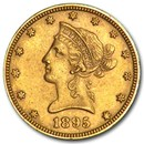 1895 $10 Liberty Gold Eagle AU