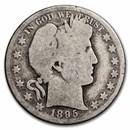 1895 Barber Half Dollar AG