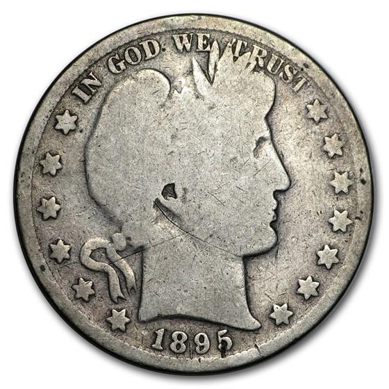 1895 Barber Half Dollar Good