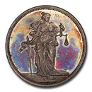 1895 German States Saxony Supreme Court Silver Medal SP-64 PCGS