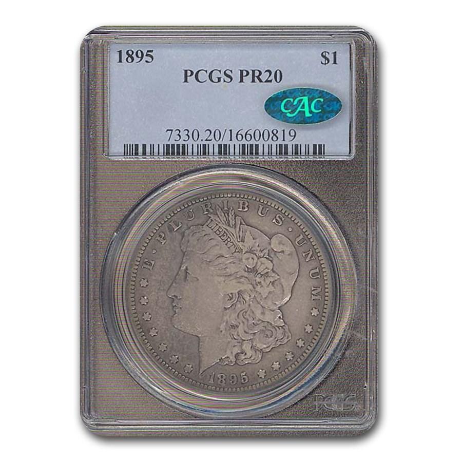 1895 Morgan Dollar PR-20 PCGS CAC