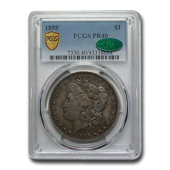 1895 Morgan Dollar PR-40 PCGS CAC