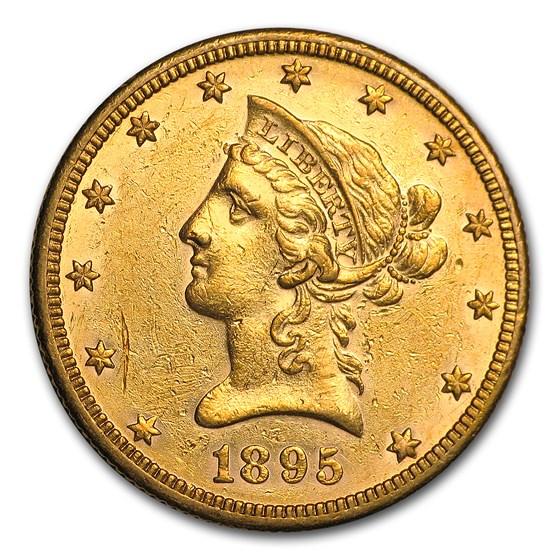 1895-O $10 Liberty Gold Eagle AU