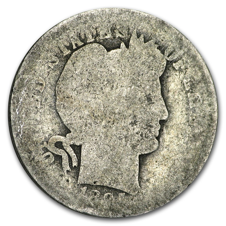 1895-O Barber Dime Almost Good