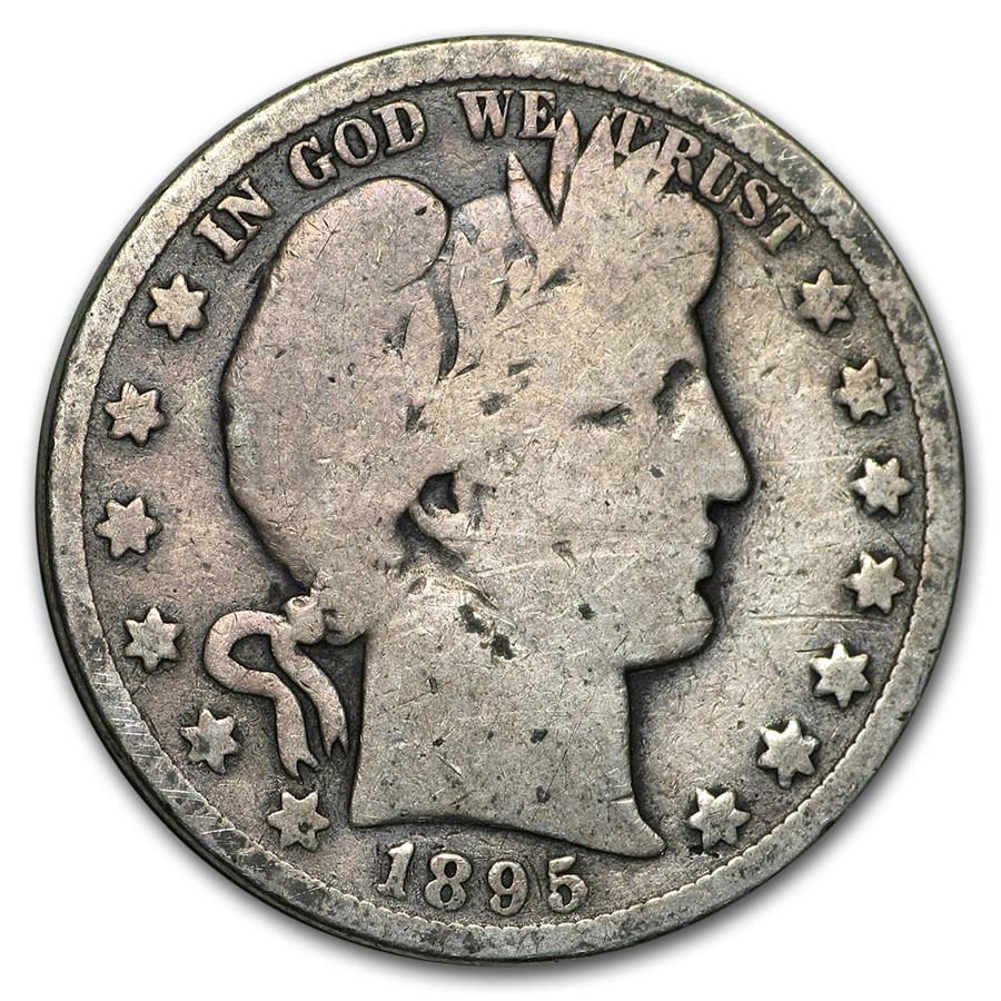 1895-O Barber Half Dollar AG