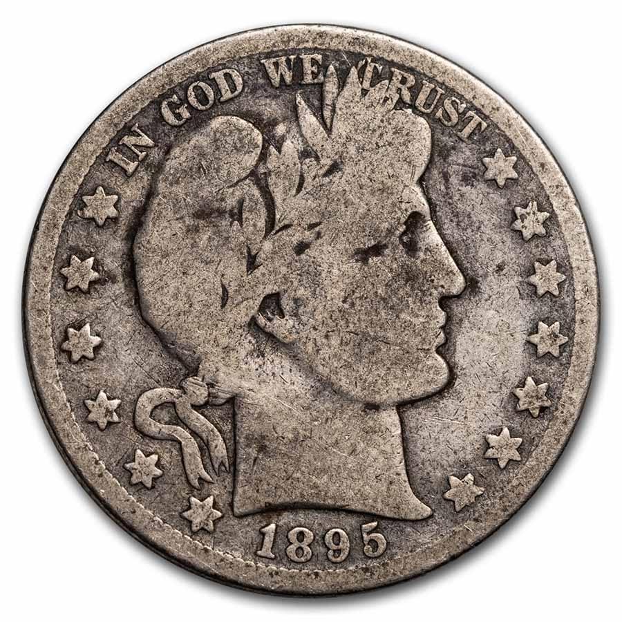 1895-O Barber Half Dollar Good