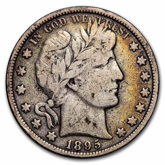 1895-O Barber Half Dollar VG