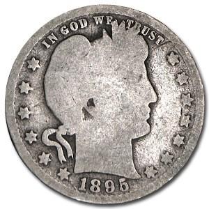 1895-O Barber Quarter Good