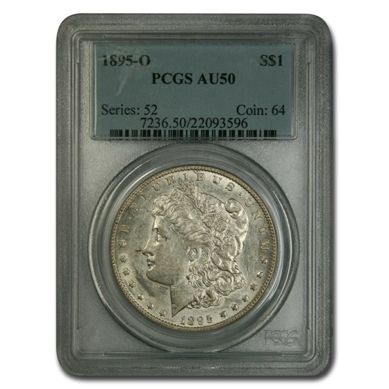 1895-O Morgan Dollar AU-50 PCGS
