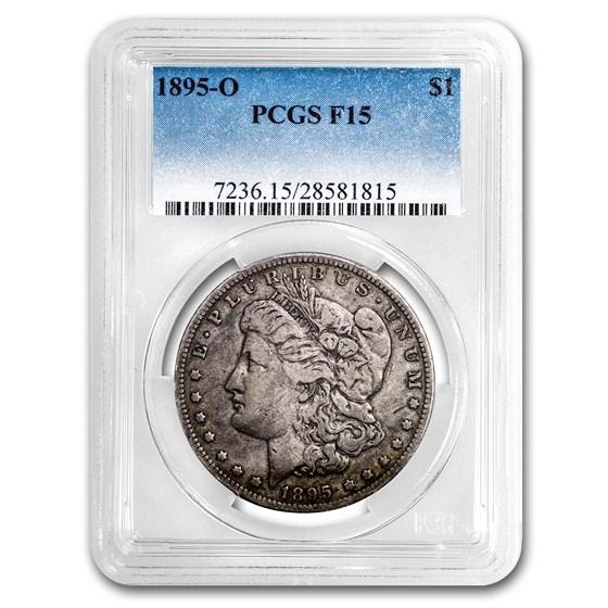 1895-O Morgan Dollar Fine-15 PCGS