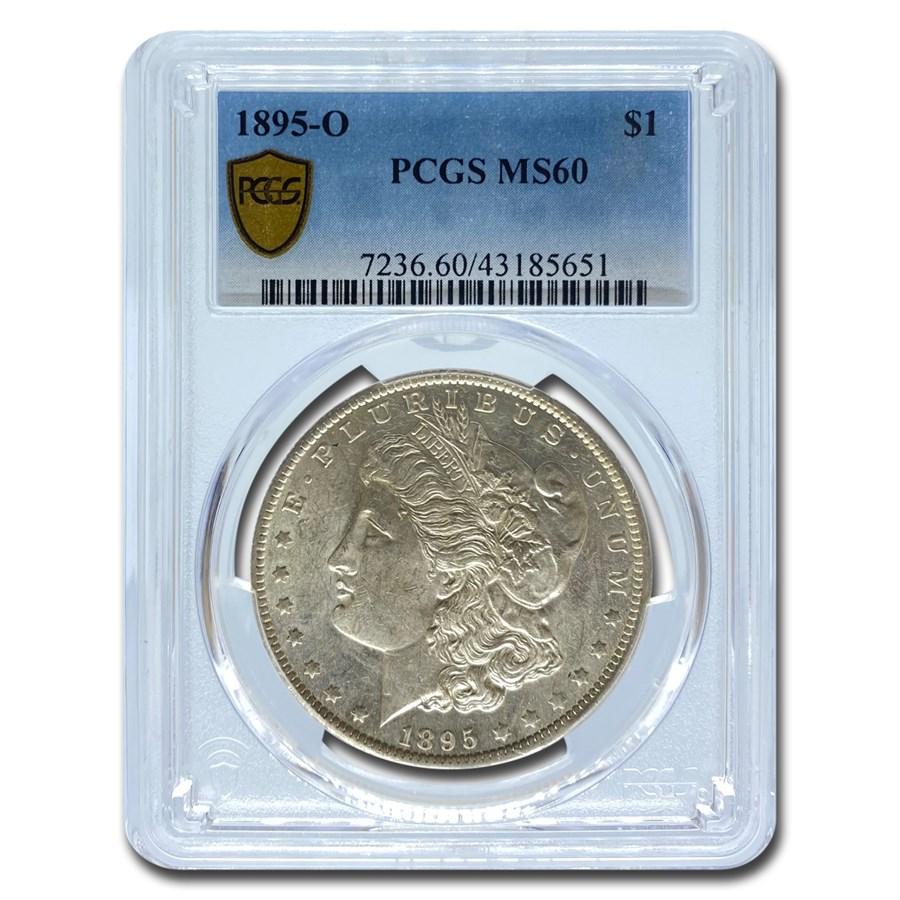 1895-O Morgan Dollar MS-60 PCGS
