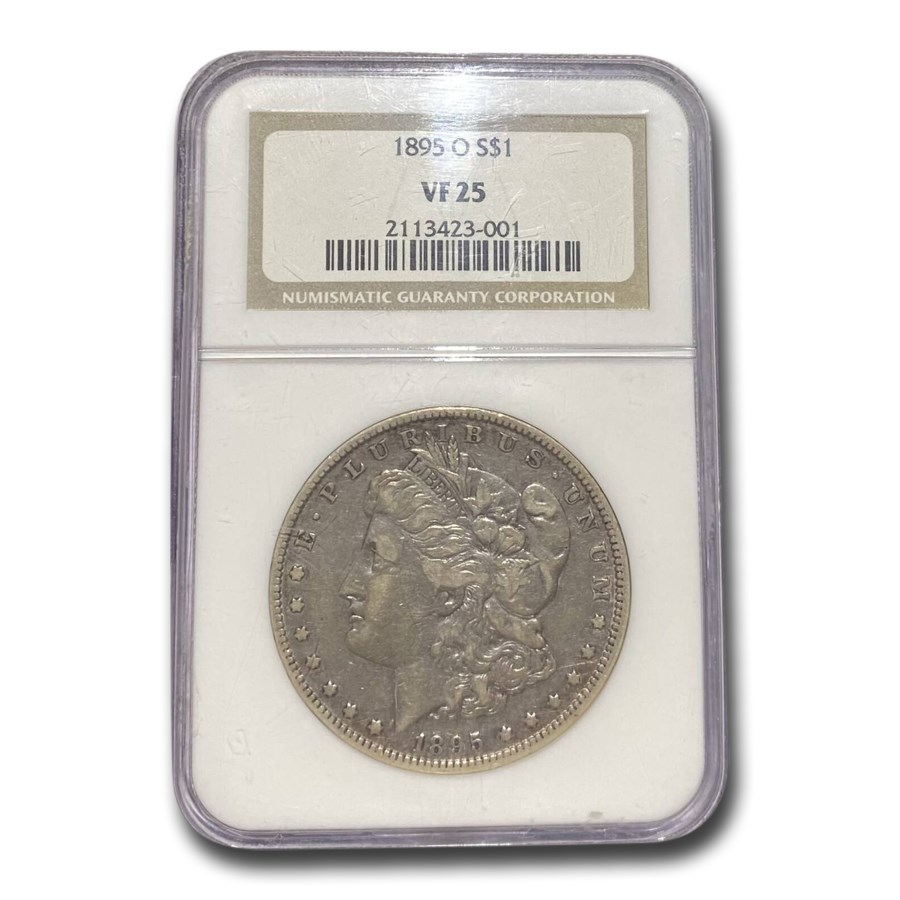 1895-O Morgan Dollar VF-25 NGC