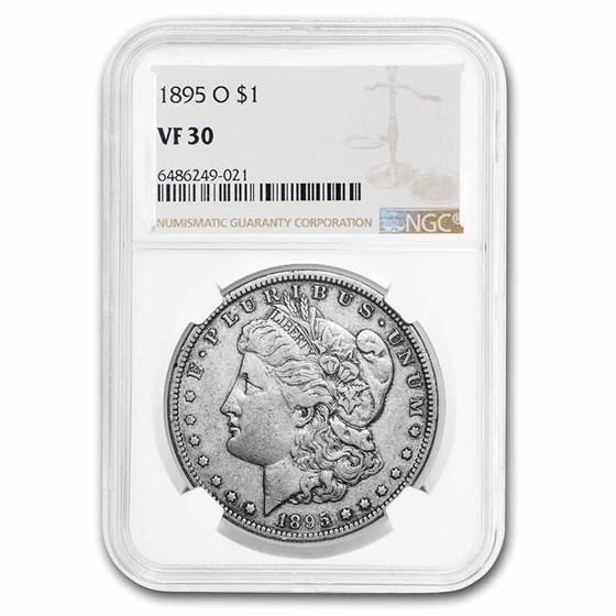 1895-O Morgan Dollar VF-30 NGC