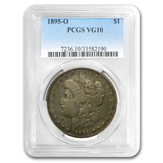 1895-O Morgan Dollar VG-10 PCGS