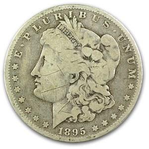 1895-O Morgan Dollar VG Details (Damaged)