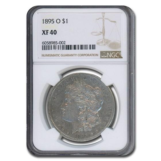 1895-O Morgan Dollar XF-40 NGC