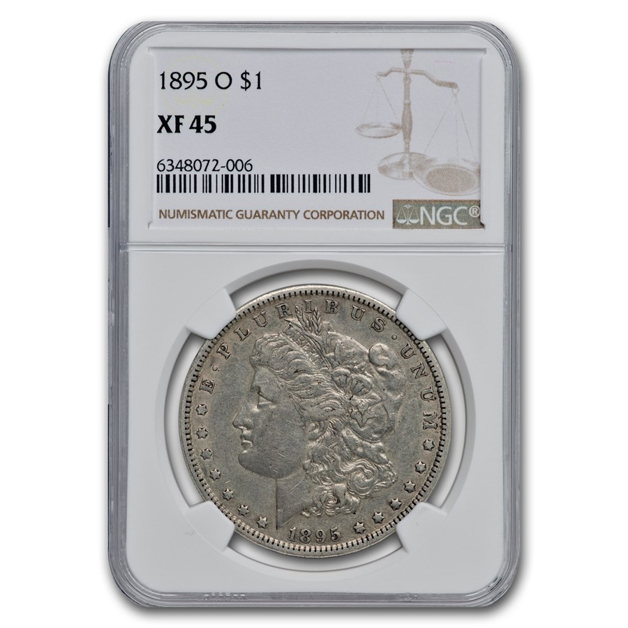 1895-O Morgan Dollar XF-45 NGC