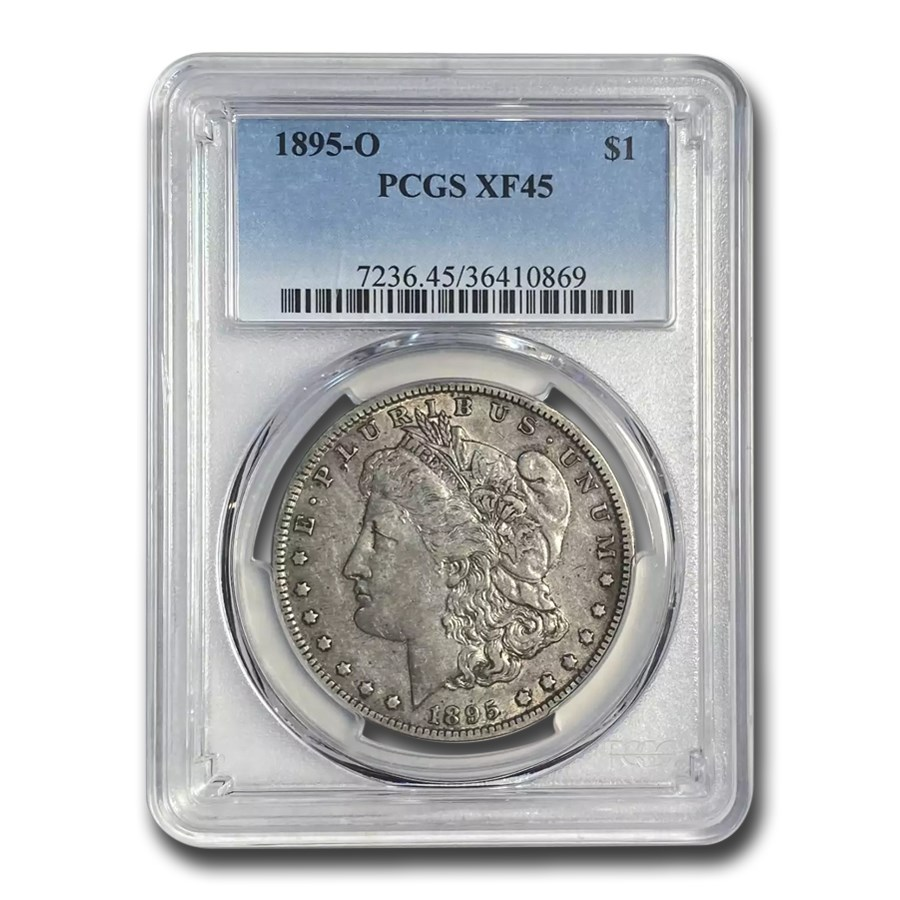 1895-O Morgan Dollar XF-45 PCGS