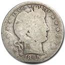 1895-S Barber Quarter AG