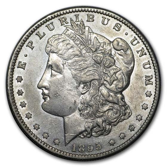 1895-S Morgan Dollar AU