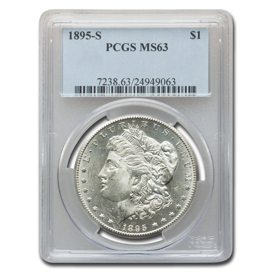 1895-S Morgan Dollar MS-63 PCGS