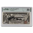 1896 $1.00 Silver Certificate Educational Note AU-55 PMG