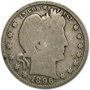 1896 Barber Quarter Good/VG