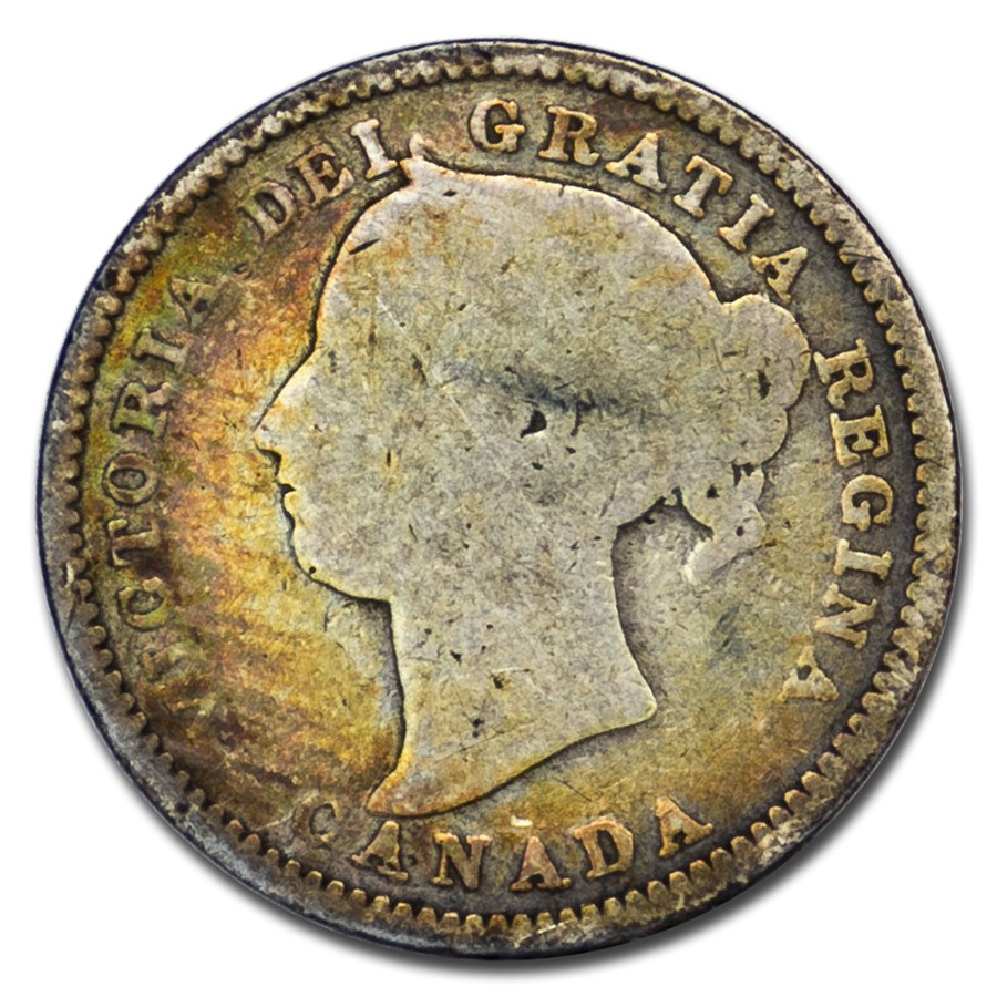 1896 Canada 10 Cents VG