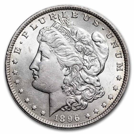 1896 Morgan Dollar AU