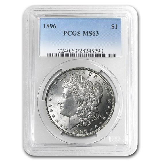 1896 Morgan Dollar MS-63 PCGS