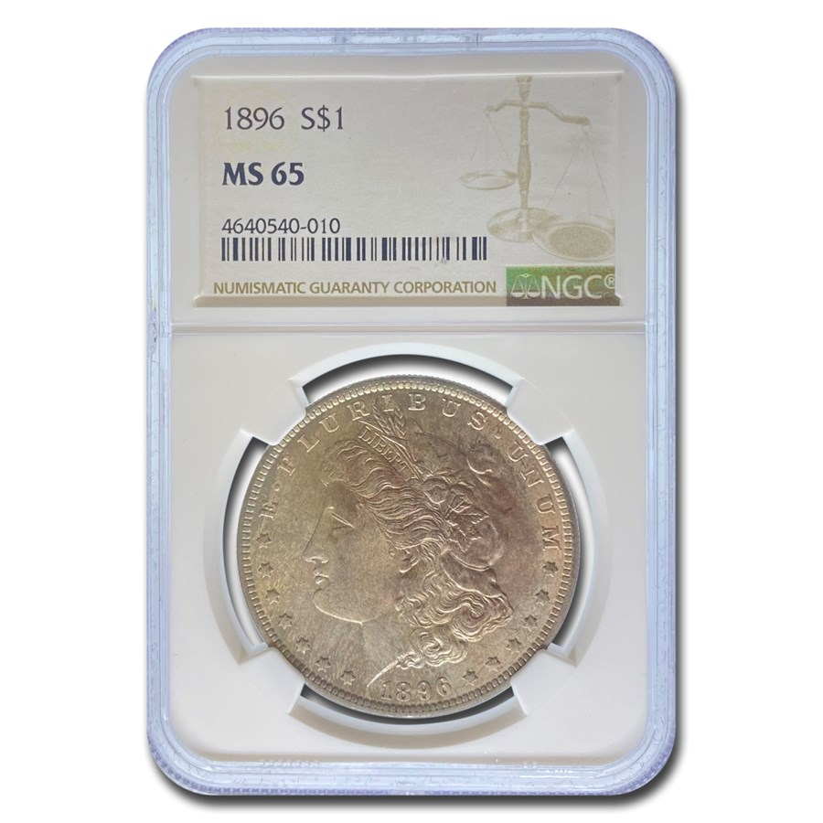 1896 Morgan Dollar MS-65 NGC