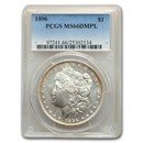 1896 Morgan Dollar MS-66 PCGS (DMPL)