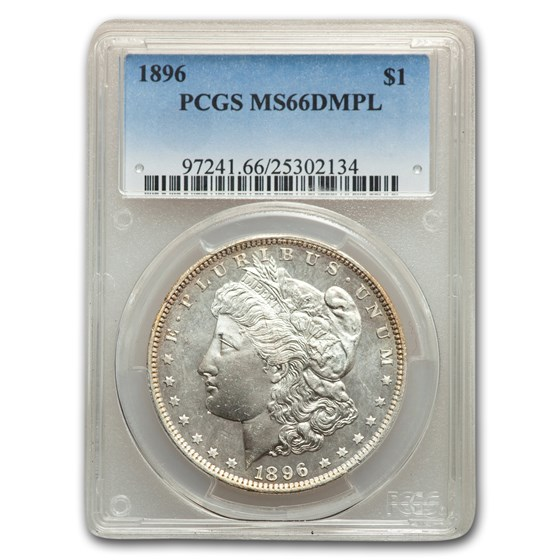 1896 Morgan Dollar MS-66 PCGS (DMPL)