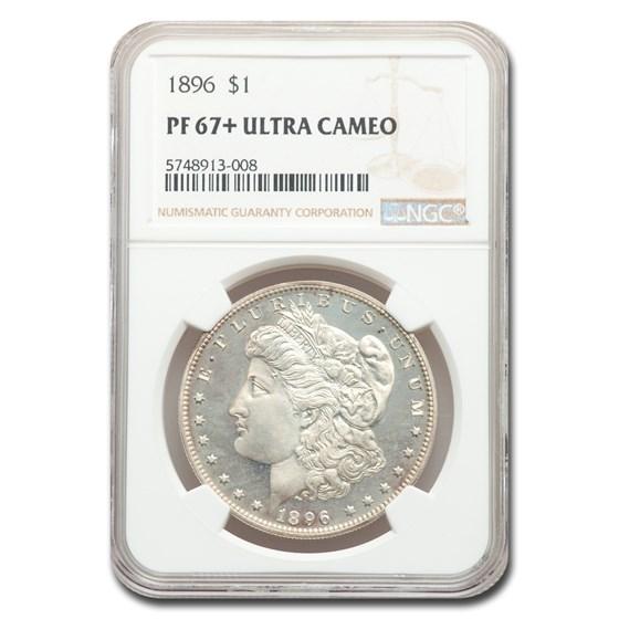 1896 Morgan Dollar PF-67+ UCAM NGC