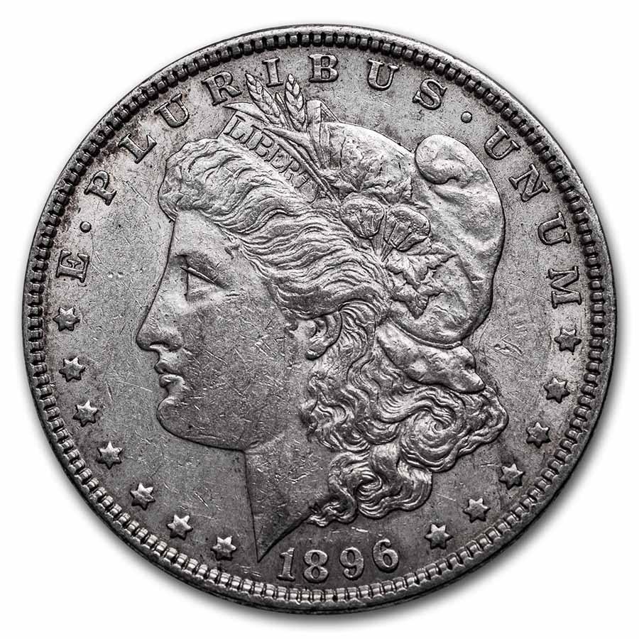 1896 Morgan Dollar XF