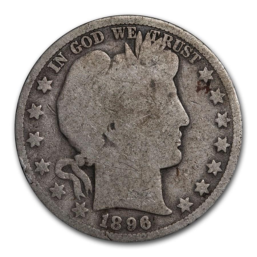 1896-O Barber Half Dollar AG