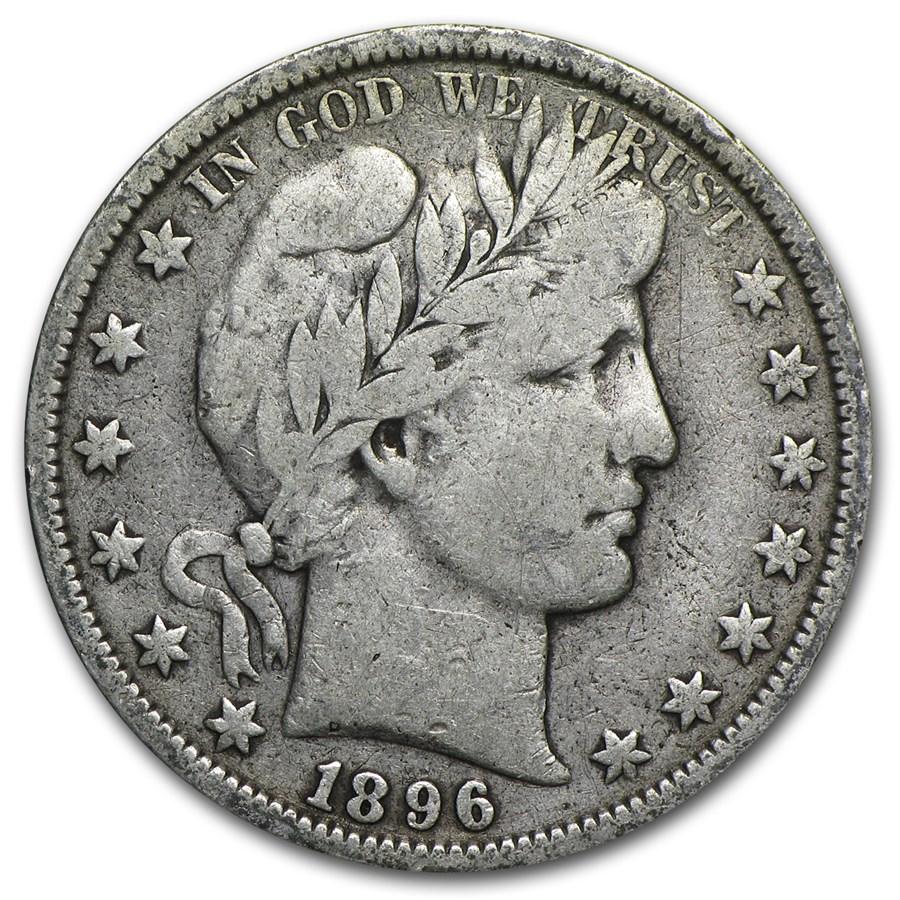 1896-O Barber Half Dollar Fine