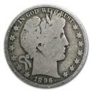 1896-O Barber Half Dollar Good
