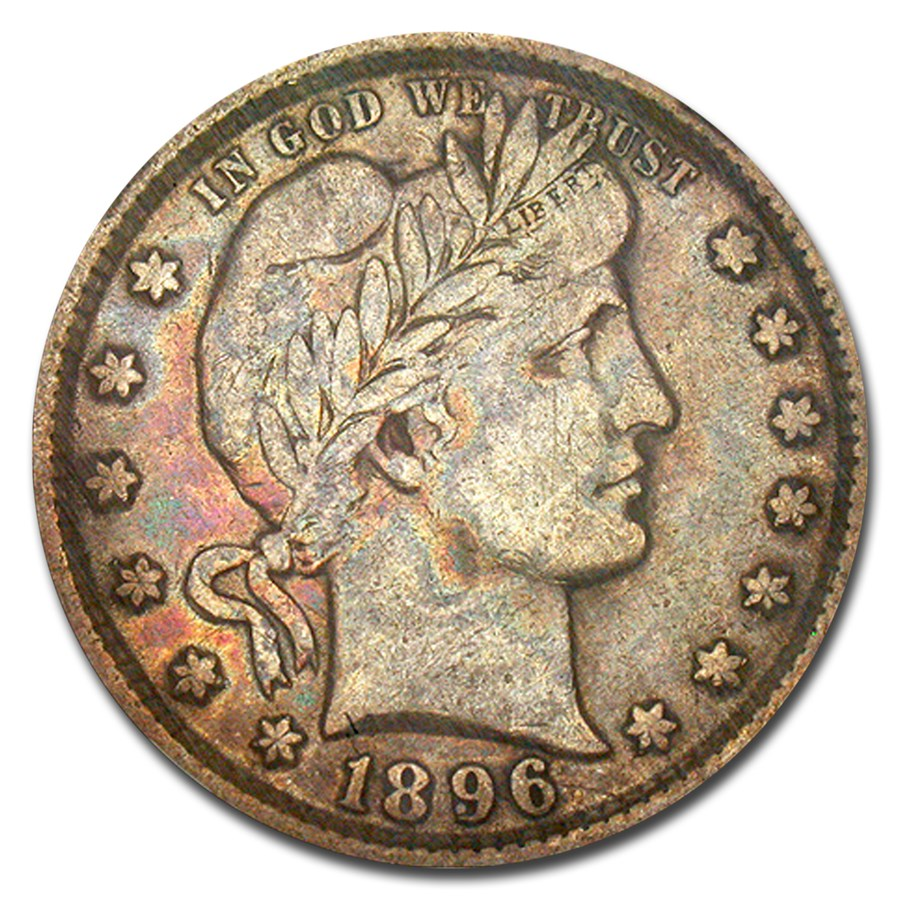 1896-O Barber Quarter VF-20 NGC