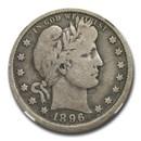 1896-O Barber Quarter VG-8 NGC