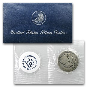 1896-O Morgan Dollar Good Details (GSA Soft Pack, Damaged)