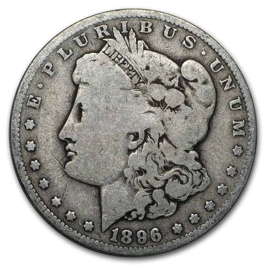 1896-O Morgan Dollar VG/VF