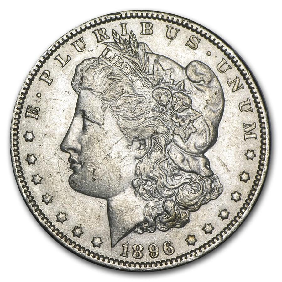1896-O Morgan Dollar XF-45