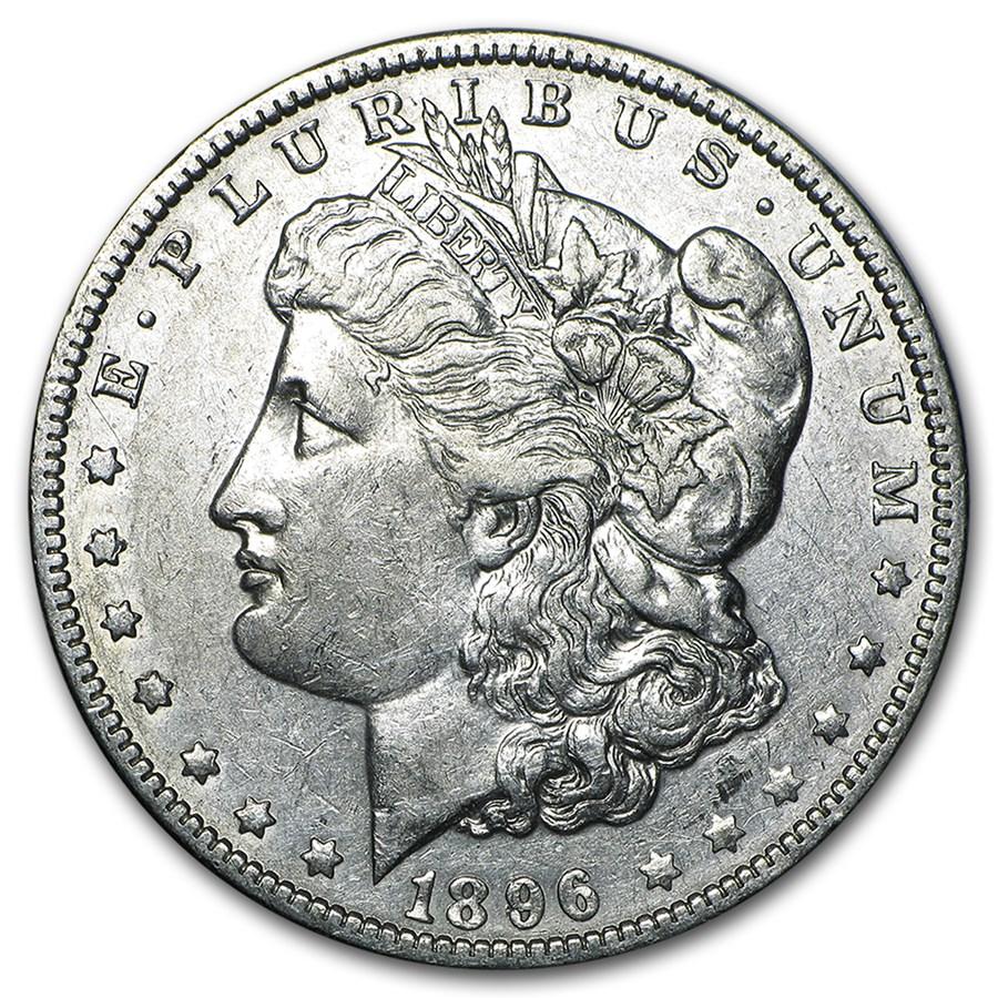 1896-O Morgan Dollar XF