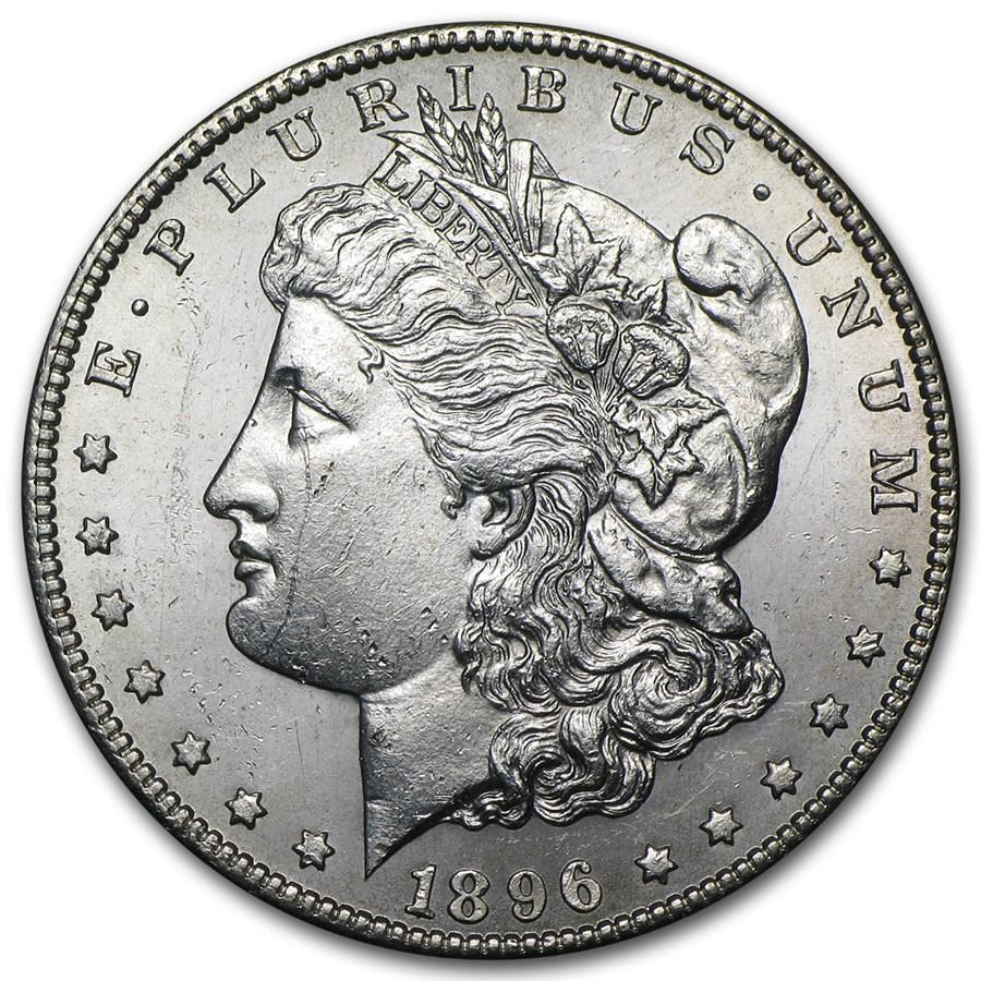 1896-S Morgan Dollar BU