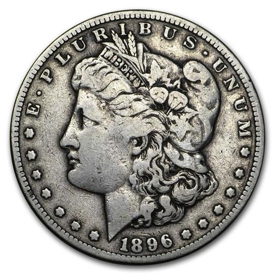 1896-S Morgan Dollar Fine