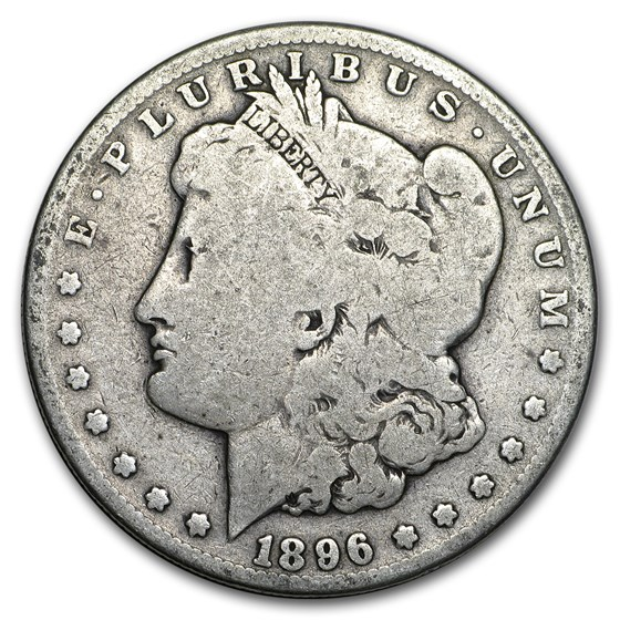 1896-S Morgan Dollar Good